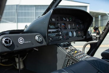 Ghost Air Luxury Helicopter Interior