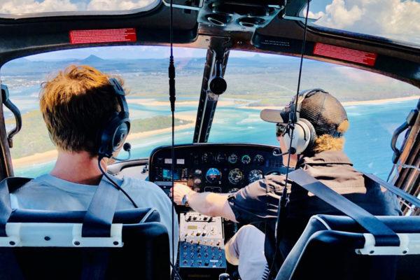 Sue-Ellen Knox - Scenic Pilot & passenger